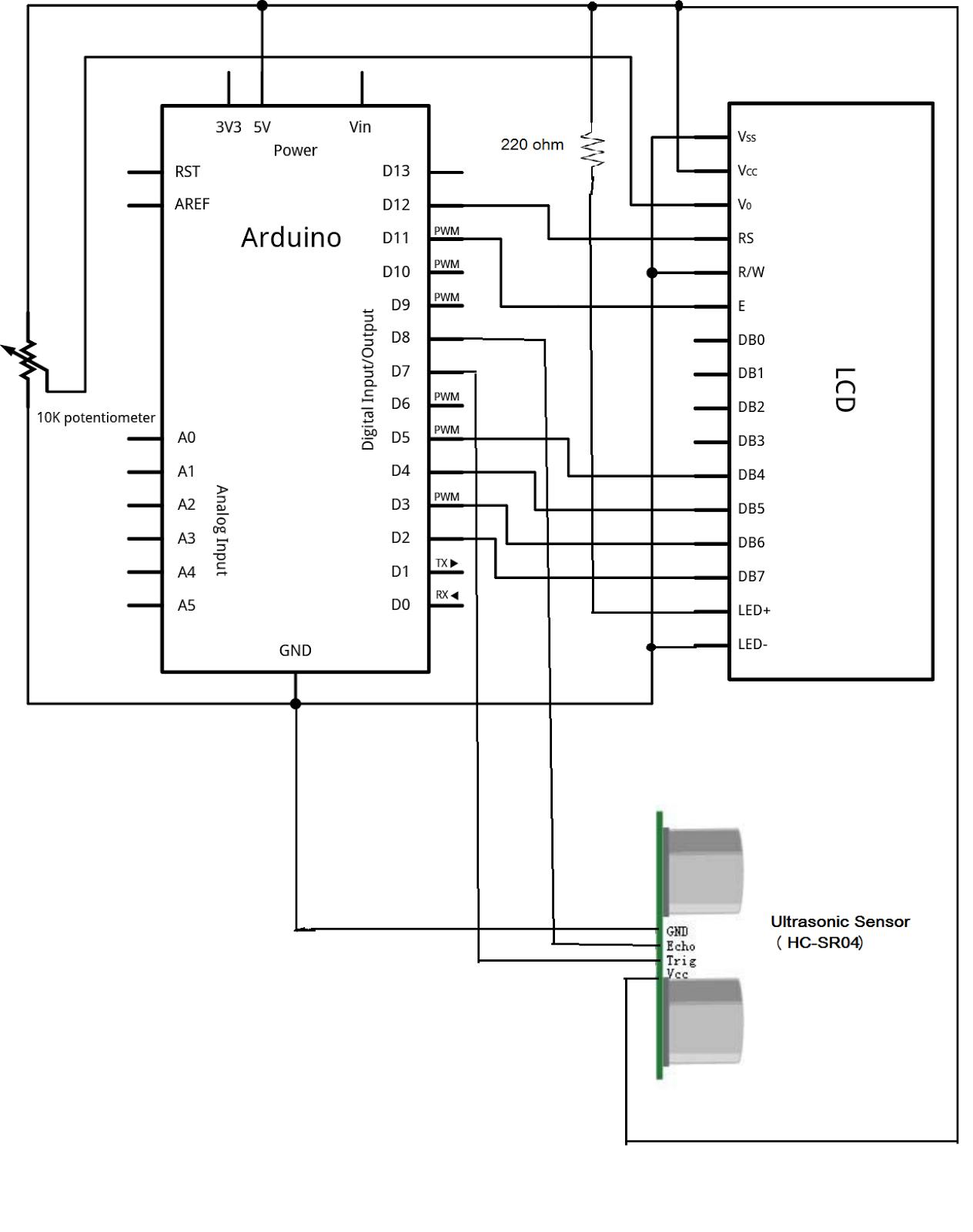 Arduino Coder Distance Calculator