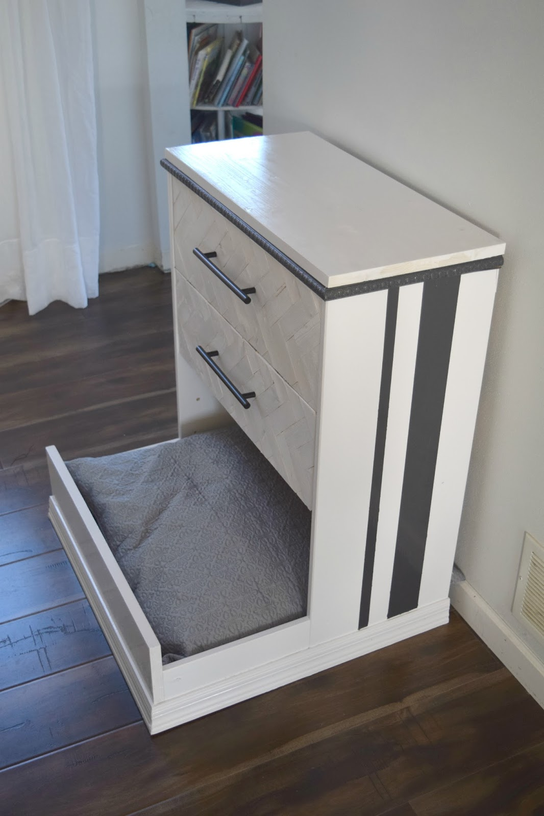 Do It Yourself Home Design: IKEA Rast Dresser Hack- Dresser Into Dog Bed • Our House