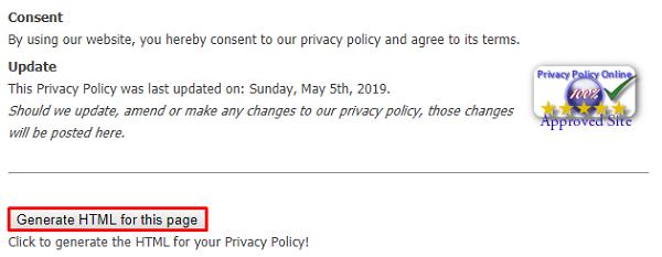 Cara Membuat Privacy Policy Secara Online Untuk Blog
