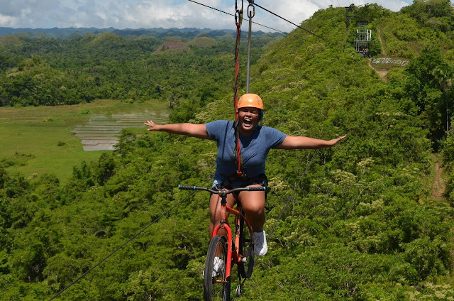 CHAP Bohol Adventure Curious Onion Bike Zipline