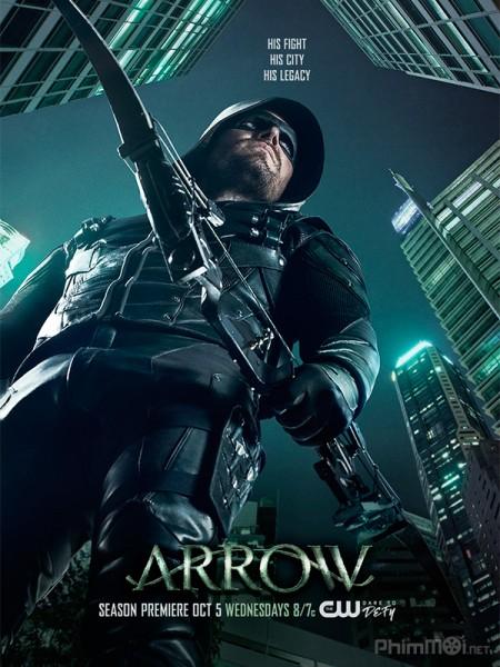 Mũi Tên Xanh 5 - Arrow 5