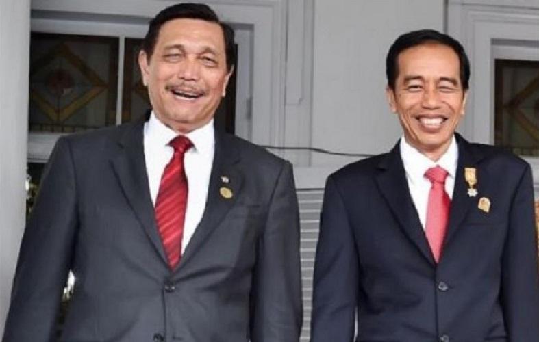 Luhut dan Jokowi