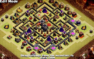 Base Coc Th 9 Pangkalan Perang 7