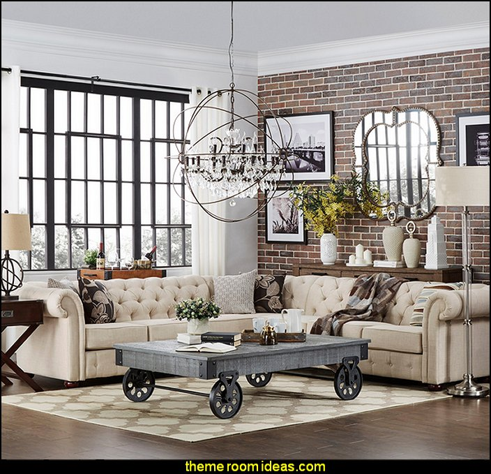 industrial style living room furniture coastal decor decorating theme bedrooms maries manor ideas decorate a