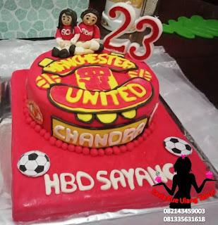 Harga kue ulang tahun tema Manchester united