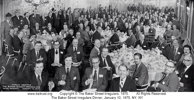 The 1975 BSI Dinner group photo