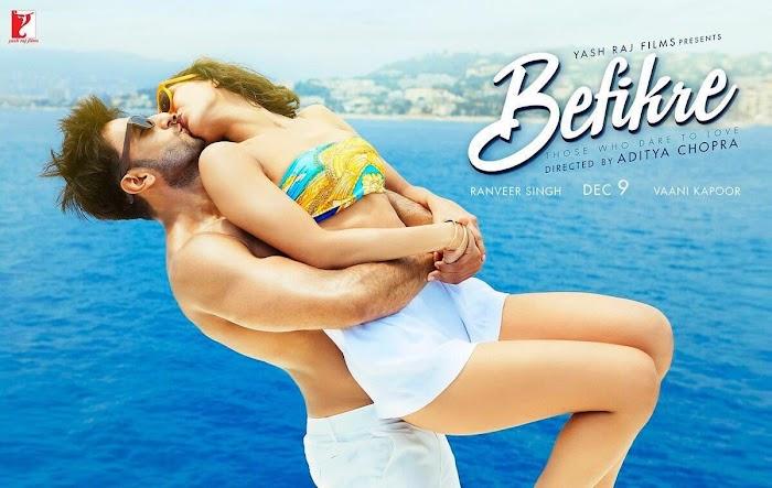 Ranveer Singh & Vaani Kapoor Spicy Photoshoot and Befikre movie Kissing Images