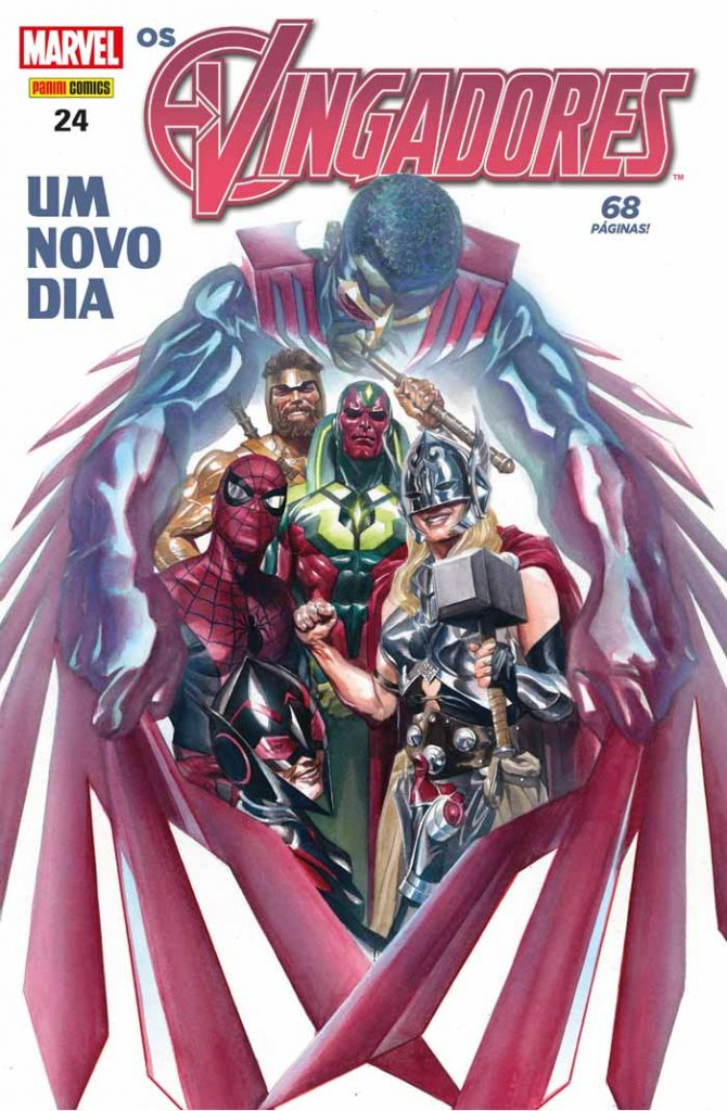 Checklist Marvel/Panini (Julho/2019 - pág.08) - Página 7 Capa_Os_Vingadores-24-670x1024