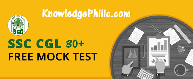 SSC CGL 2017 Tier-1 Mock Tests in PDF Download [30+ Test free]