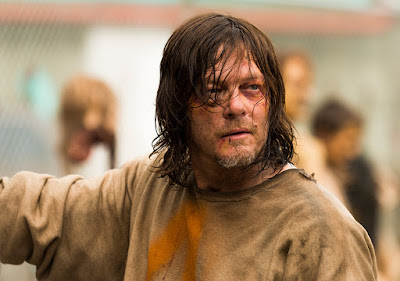 Daryl Dixon (Norman Reedus) nell'episodio 7
