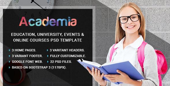 latest Academia - Education Center WordPress Theme