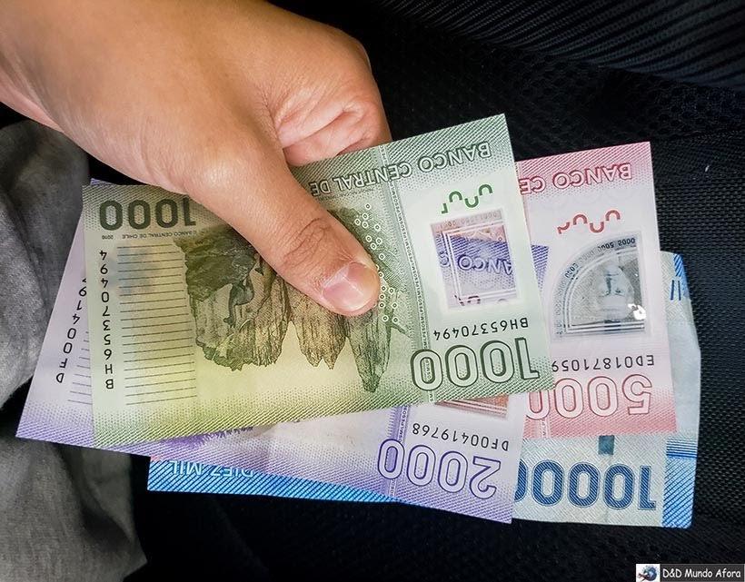 Pesos chilenos - Diário de Bordo Chile: 8 dias em Santiago e arredores