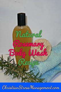 Rosemary body wash recipe