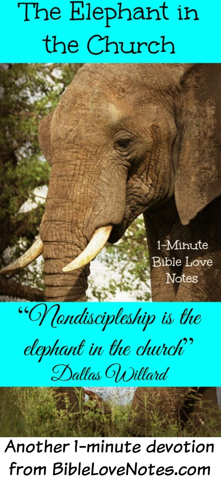 Non-discipleship, Christian growth