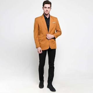 Grosir Jaket Exclusive Mustard Color New Design Jas Pria