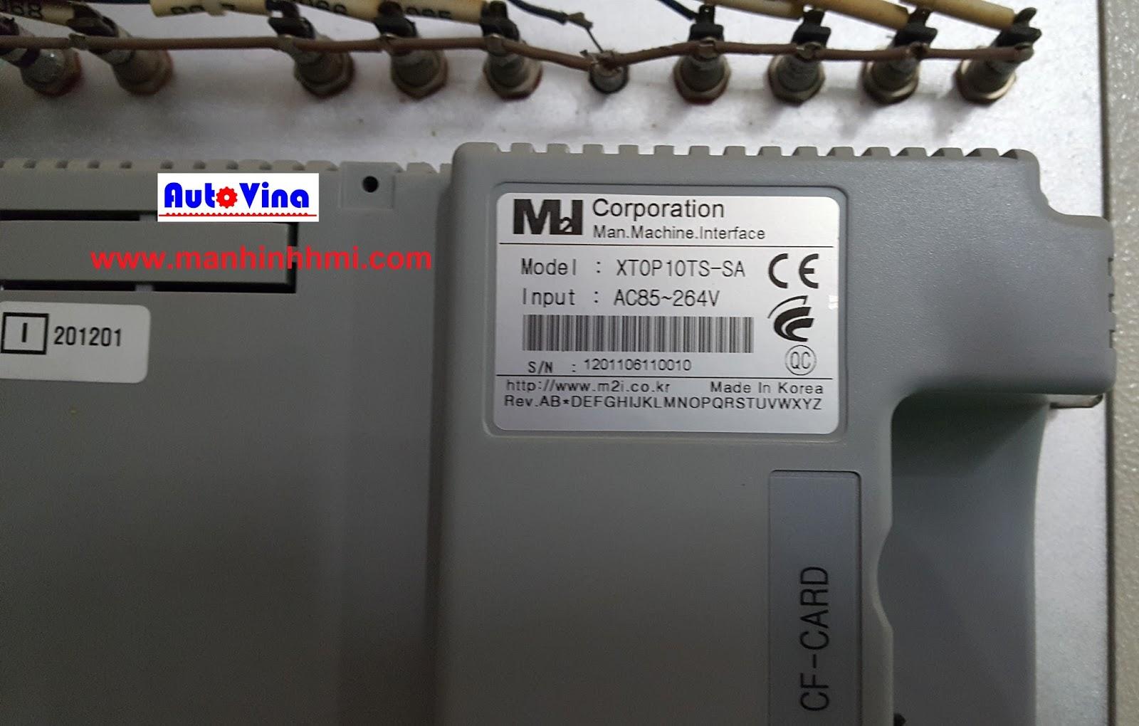 Sửa chữa màn hình cảm ứng hãng M2I, Model XTOP10TS-SA