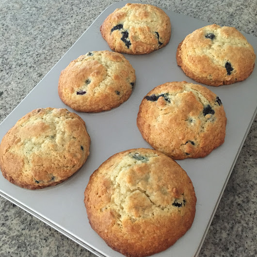 Blueberry Muffins - Recipe