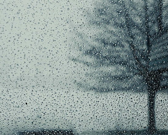 Raindrops landscape photography by Chelsea Victoria via Etsy