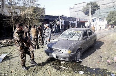 70 Dead as Terrorists Launch Suicide Car Bomb Attack and Slaughter Patients Inside a Burning Hospital