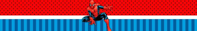 Etiquetas para Imprimir Gratis de Spiderman.