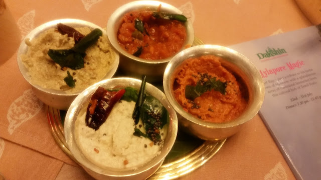 Assorted Chutneys