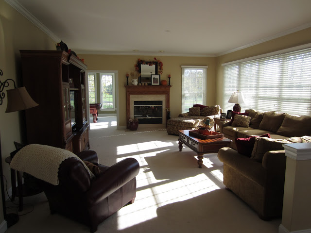 Family Room Before Renovation
