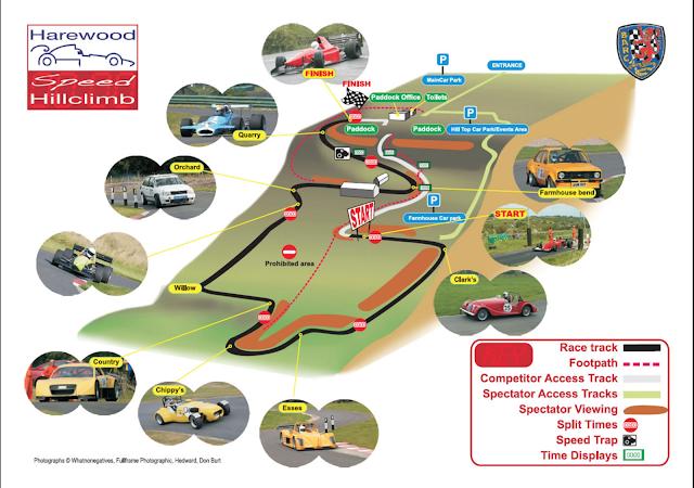 Harewood Speed Hillclimb Circuit