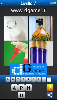 PACCHETTO 7 Soluzioni Trova la Parola - Foto Quiz con Immagini e Parole livello 7