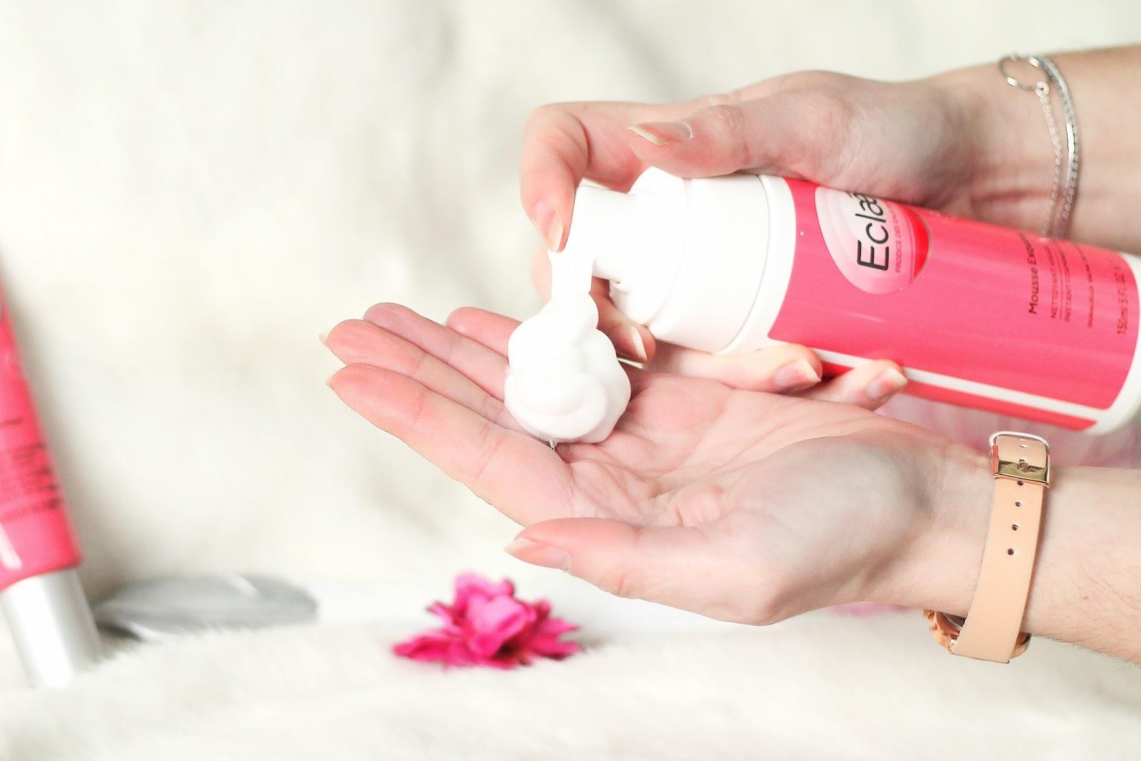 eclae concours soin makeup cosmétiques crème mousse nettoyante enrichi protecteur eau de rose aqua duna baume corps visage prendre soin de soi fleur rose salin camargue les gommettes de melo gommette trustme