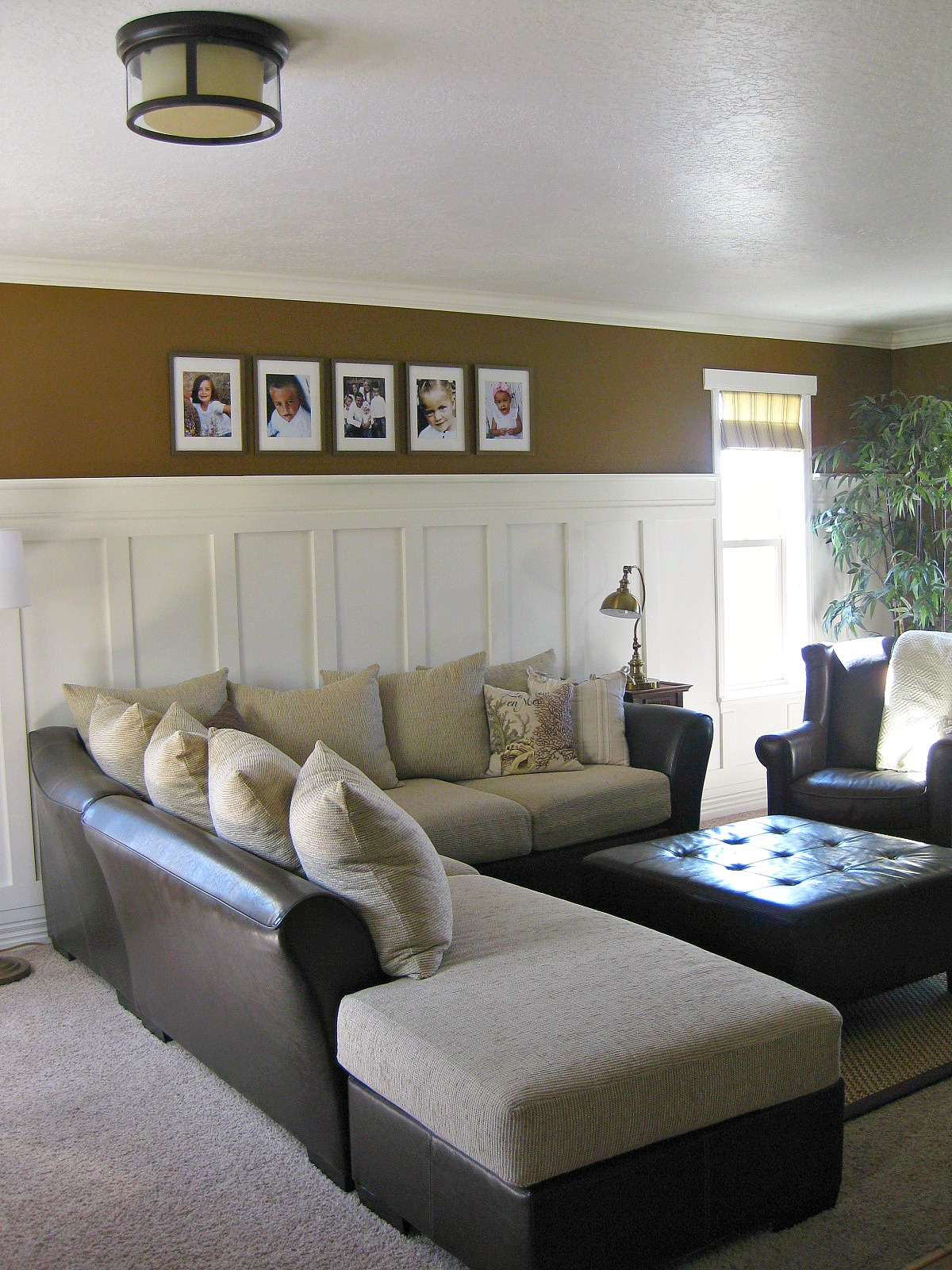 Tda decorating and design board batten accent wall tutorial - Decorating walls with pictures ...