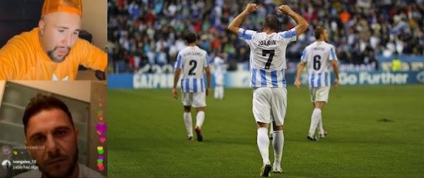 Joaquín y Kiko Rivera hablan del Málaga en Instagram