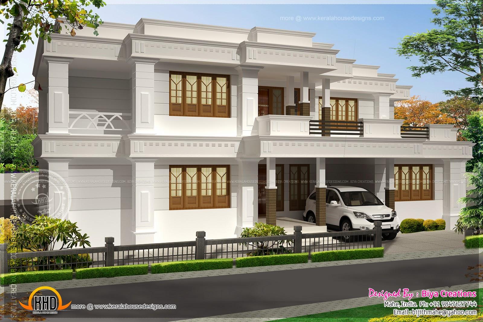 House Plans: Nice modern house exterior