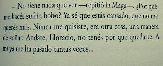 Fragmento de la novela Rayuela de Julio Cortázar