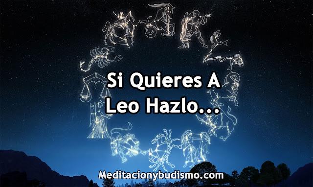 SI QUIERES A LEO HAZLO...