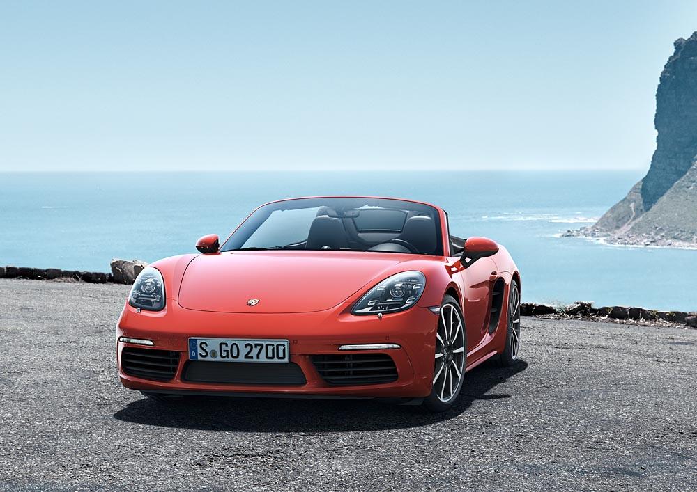 6 Με δίλιτρο turbo μπόξερ 300 ίππων η Porsche 718 Boxster Porsche, Porsche 718 Boxster, Porsche 718 Boxster S, Porsche Boxster, Roadster, videos