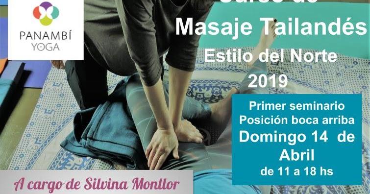 PANAMBÍ YOGA BUENOS AIRES  MASAJE TRADICIONAL TAILANDÉS b30d8bd41bd3