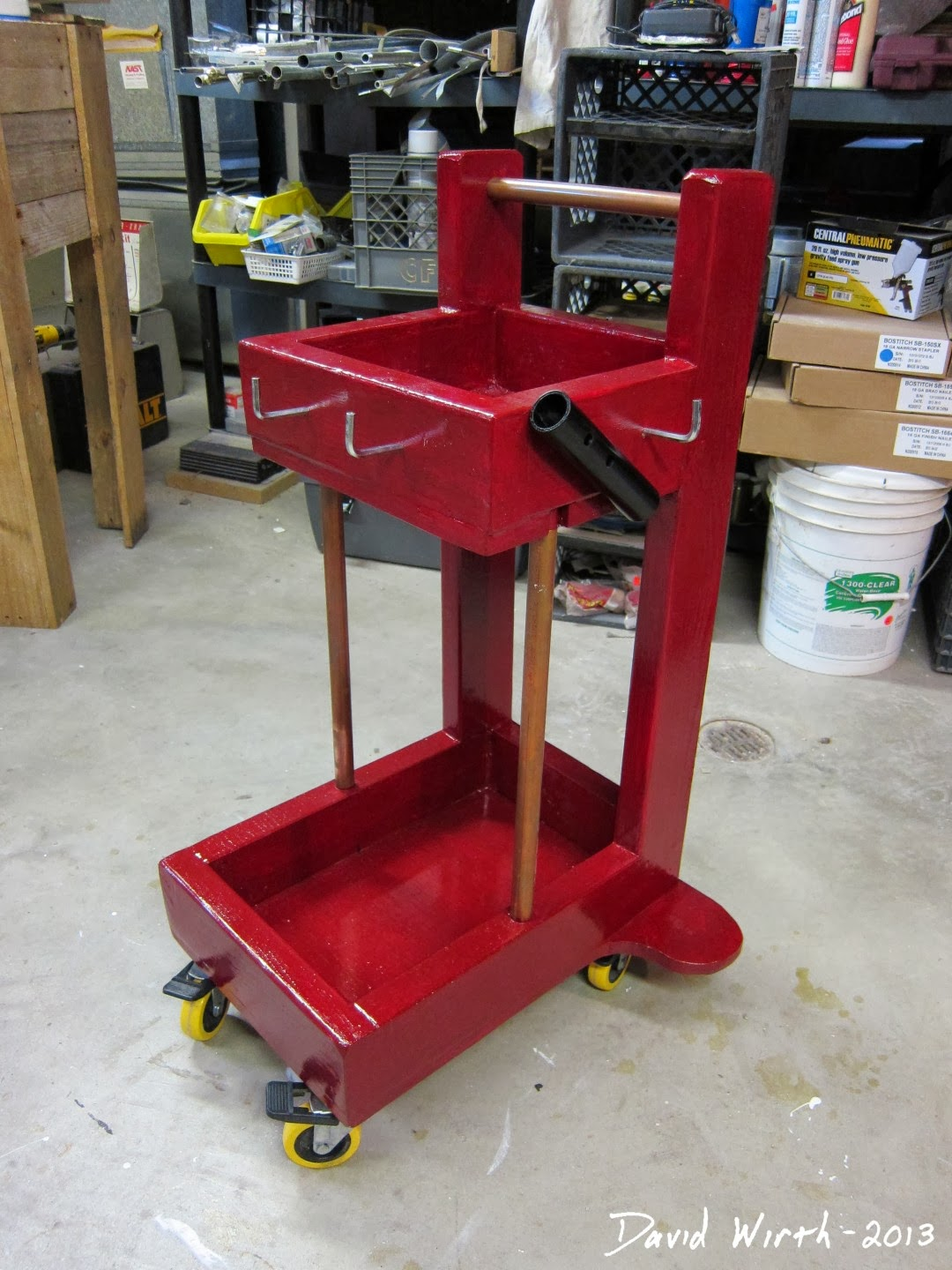 Heavy Duty Welder Cart Plans