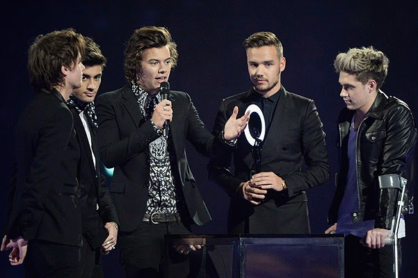 One Direction won the Breakthrough of the Year