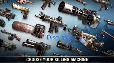 dead trigger 2 mod weapons
