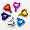 Balon Foil Hati Mini Polos / Foil Love Mini Polos