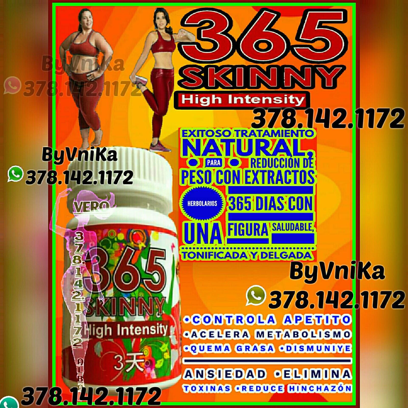 pastillas para bajar de peso 365 skinny
