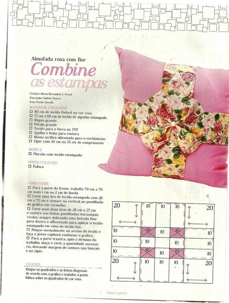 Подушки с буфами и схемы. Pillows poufs DIY tutorial