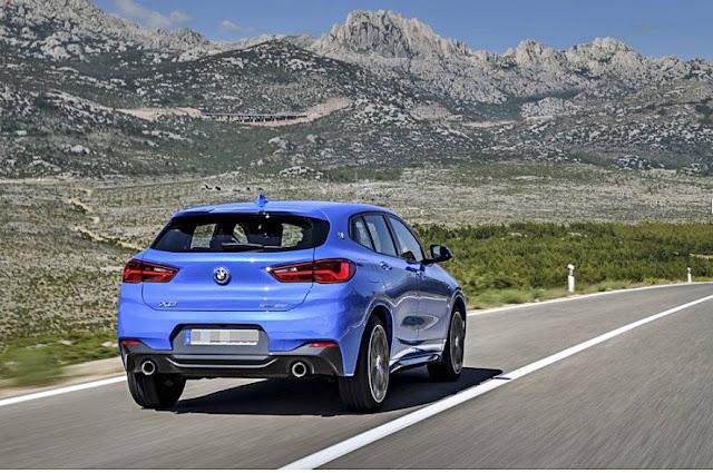 2020 BMW X2 M Rendering