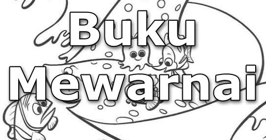 Download Buku Mewarnai Tema Finding Nemo Guru Galeri