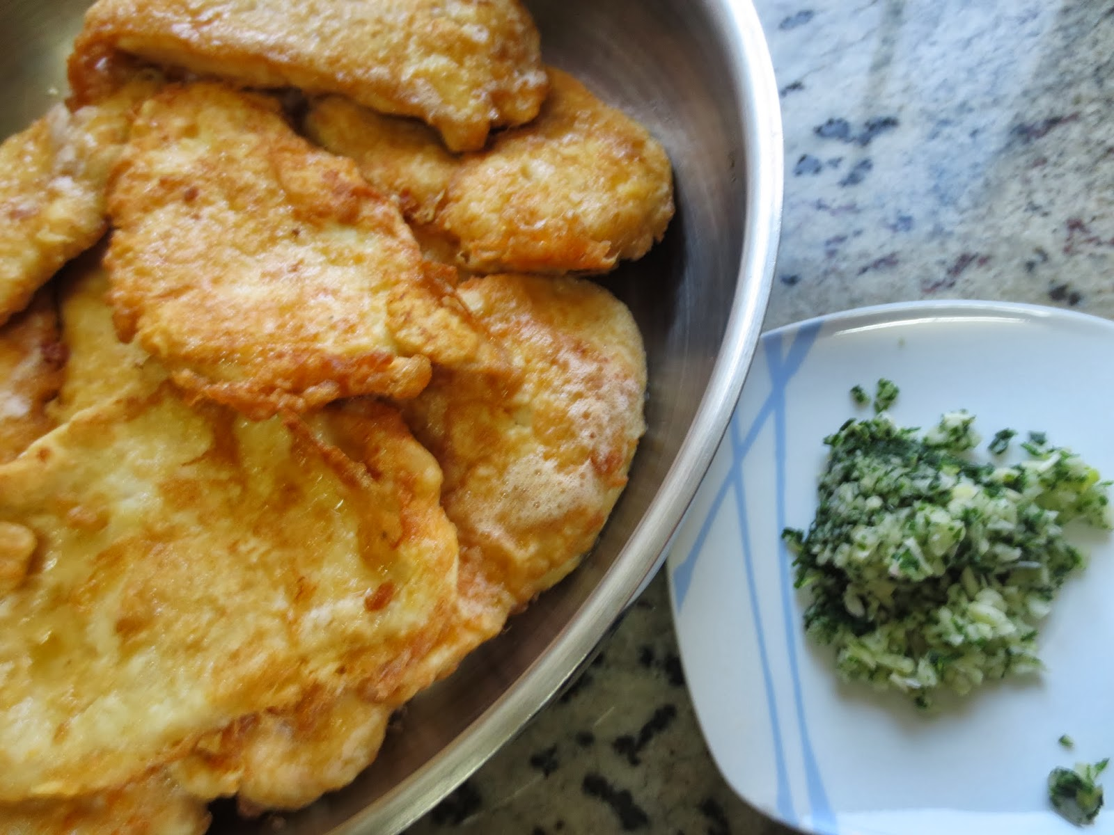 Filetes de pechuga en salsa Thermomix