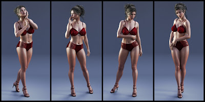 Sophisticated Poses for Genesis 3 Female