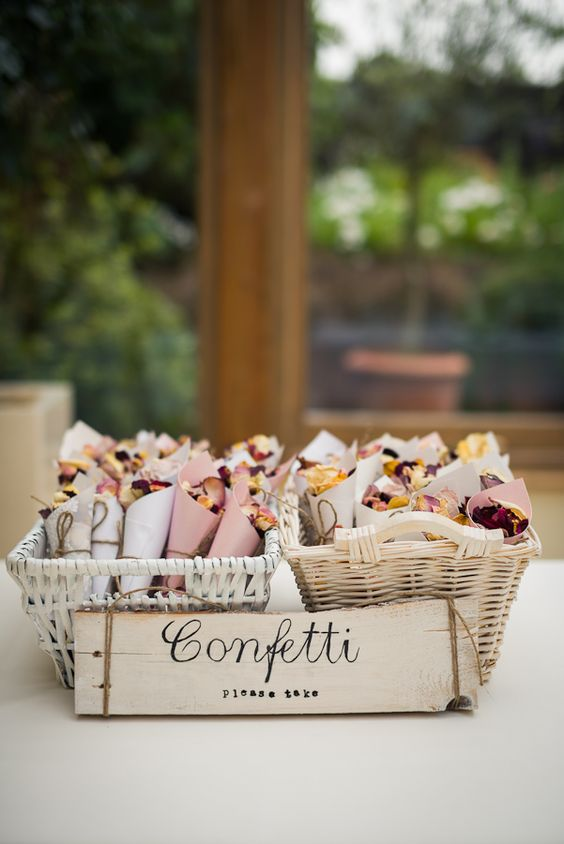 Rustic Wedding Confetti
