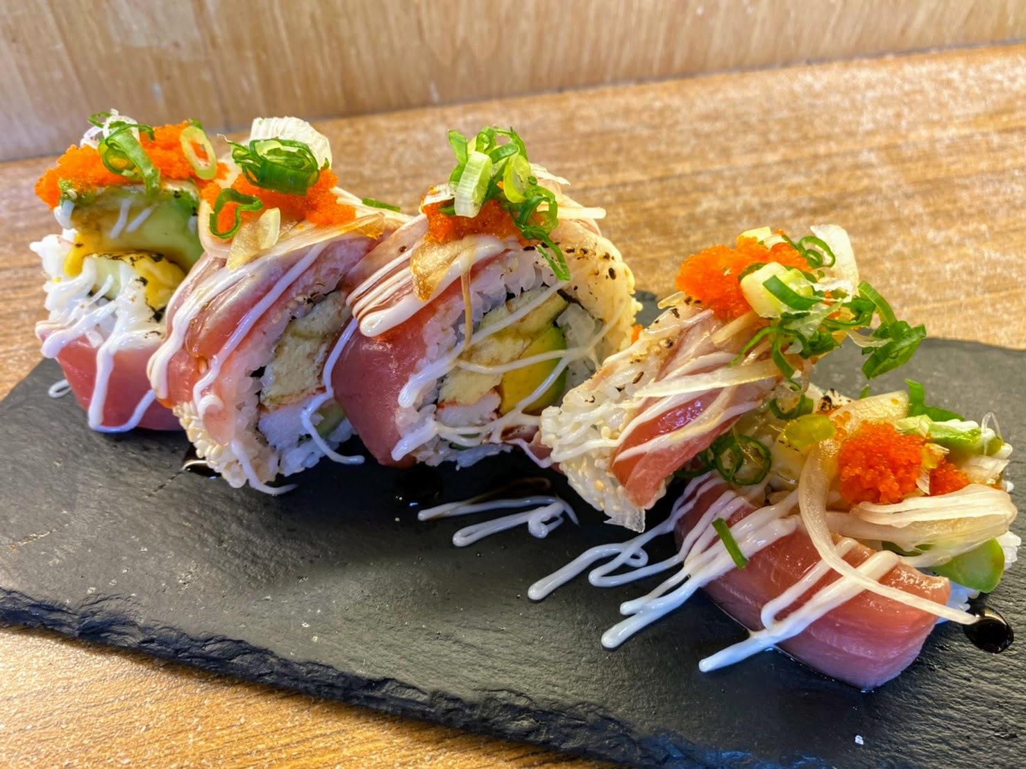台南│日式料理│和森鮓│超浮誇丼飯│雞牡蠣肉初體驗