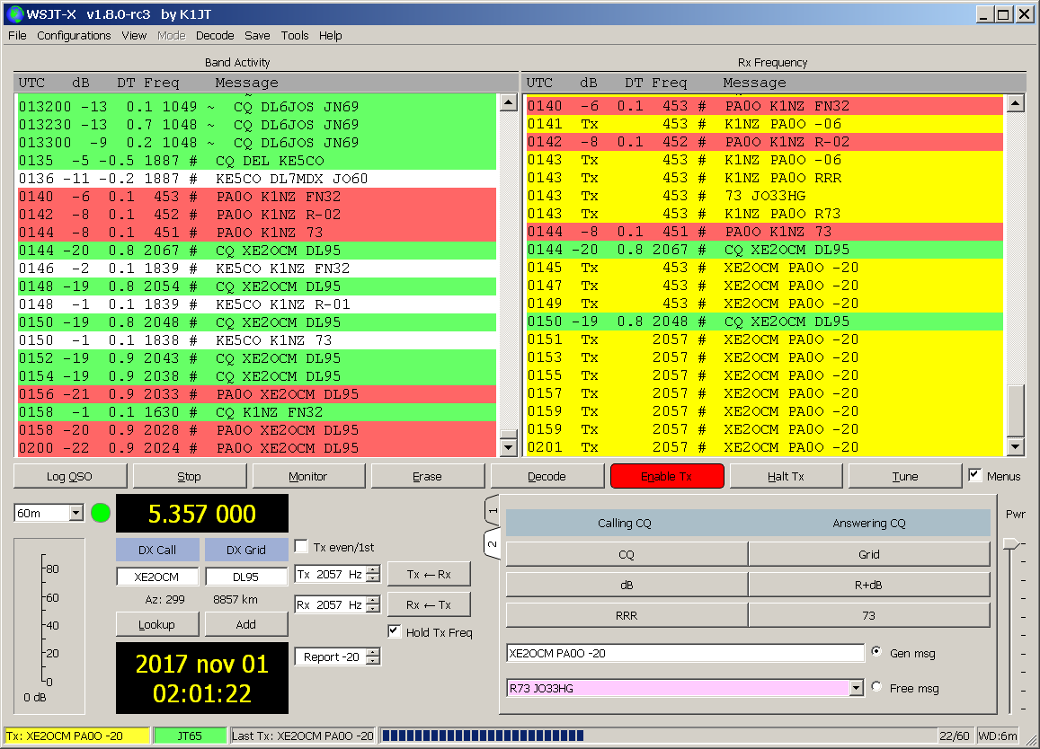 low SFI does not bother FT8 users