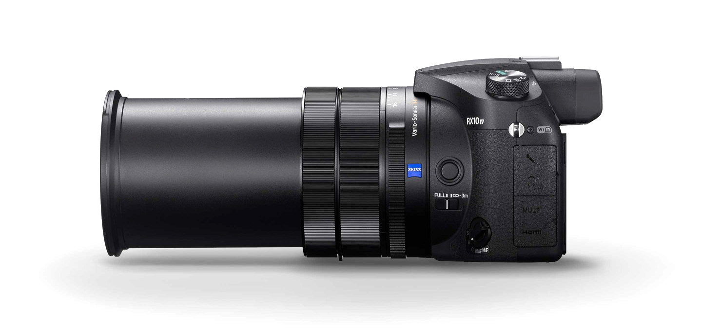 Sony RX10 IV, вид сбоку